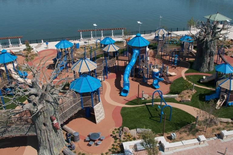 "Sunday's USA Today featured the ""10 Best Seriously Cool Playgrounds"""