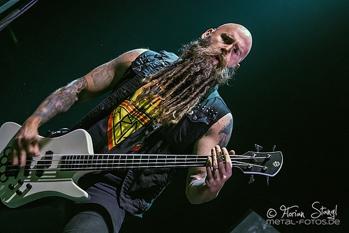 Five Finger Death Punch's Bassist Thinks They Could Be As Big As Black Sabbath