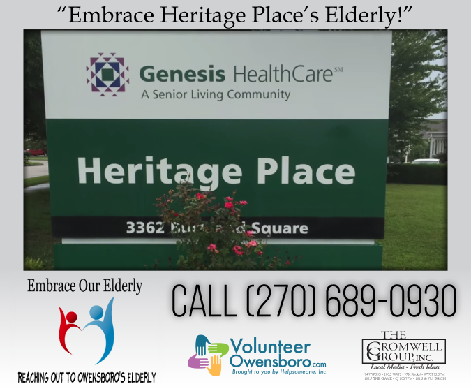 Embrace Our Elderly Needs Your Help! [VIDEO]