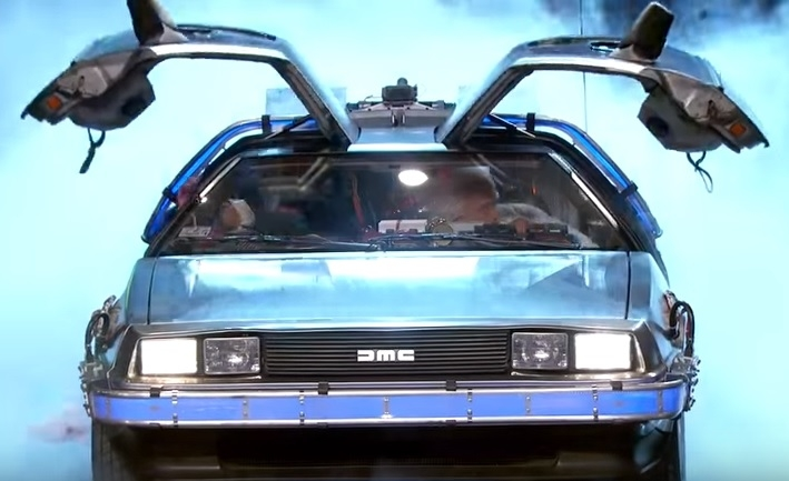 Marty McFly & Doc Brown Visit Jimmy Kimmel [VIDEO]