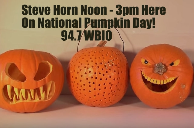Join Steve Horn Noon til 3pm On 94.7 WBIO!!