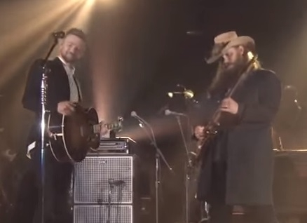 Chris Stapleton & Justin Timberlake A Great Combination At The CMA Awards Show [VIDEO]