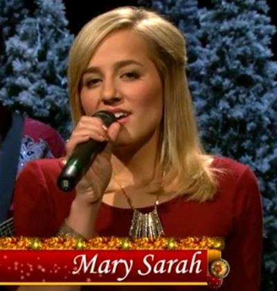 Download Mary Sarah's Rocking Around The Christmas Tree! [VIDEO]
