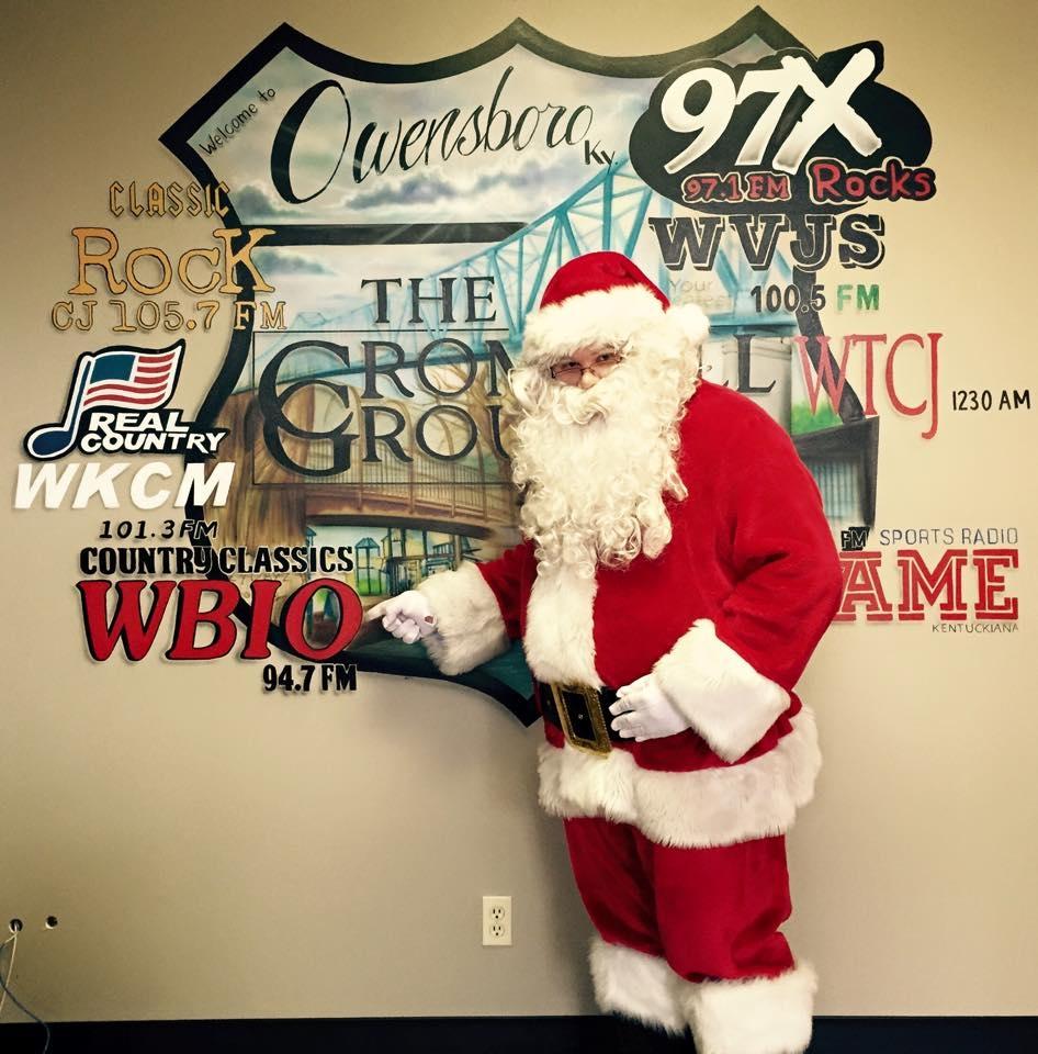 Kids Can Talk To Santa Tomorrow Morning at 10am On 94.7 WBIO!