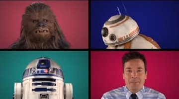 Star Wars Stars Sing Acappella Version Of The Star Wars Theme [VIDEO]