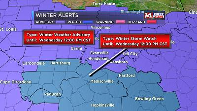 Winter Weather Advisory 9pm Tonight Til Noon Tomorrow!