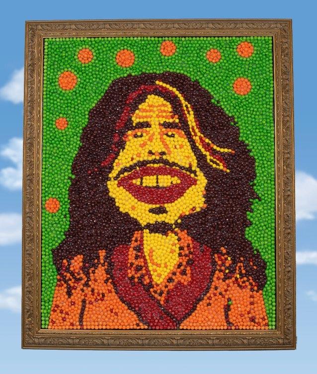 Steven Tyler's Skittle Portrait is Up For Auction