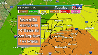 Enhanced Severe Weather This Afternoon!