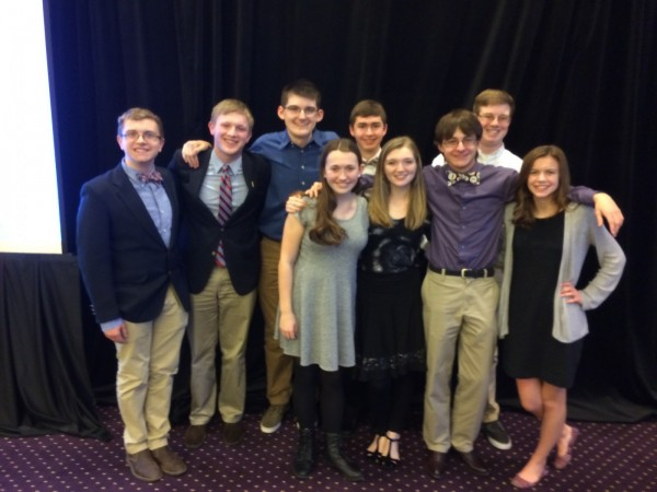 Results of DCHS Academic Team in State Finals
