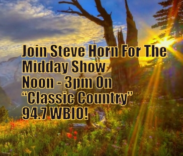 Join Steve Horn For The Tuesday Midday Show On 94.7 WBIO!