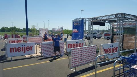 Jordan Roos is LIVE at Meijer on The Game!