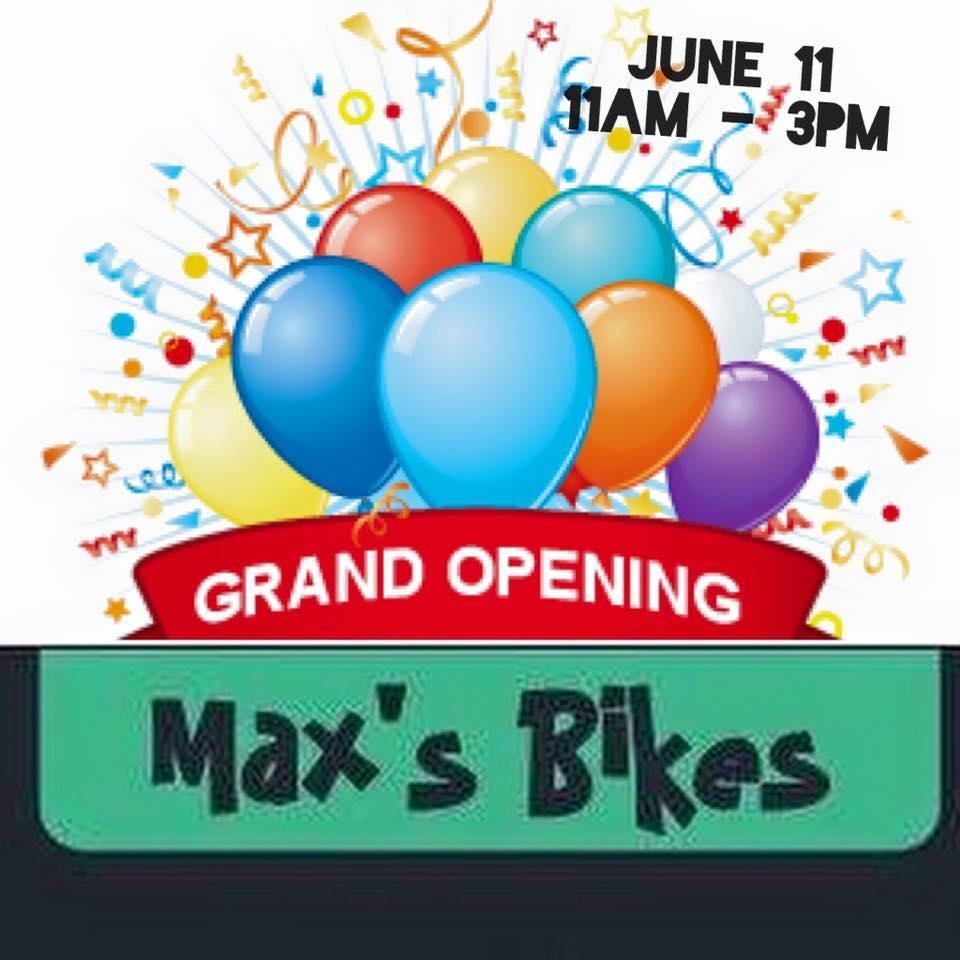 It's a Celebration at Max's Bikes at 1924 Triplett!