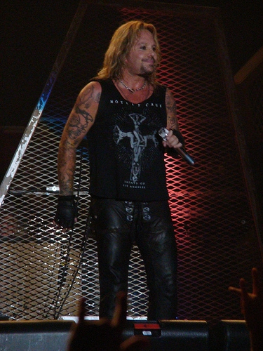 Motley Crue's Vince Neil Pleads Not Guilty To Misdemeanor Battery Charges