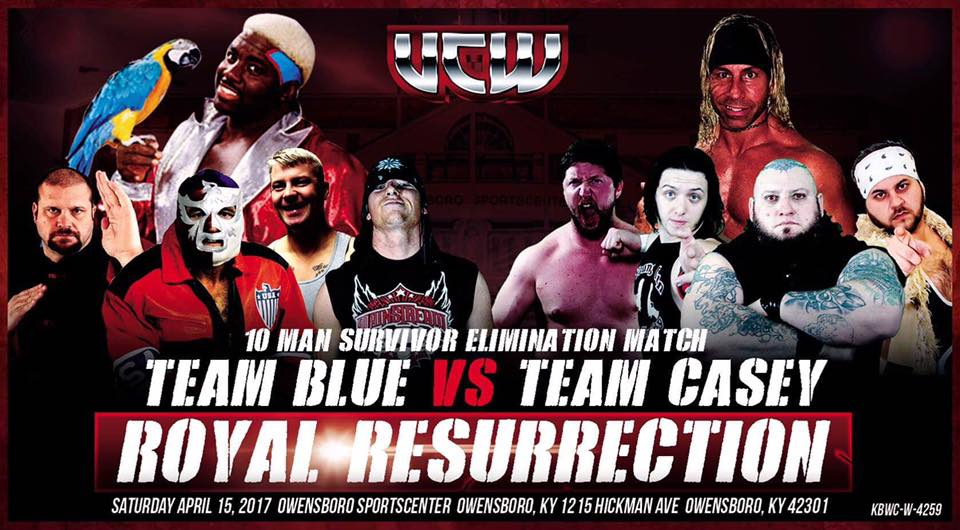 Koko B Ware Is Ready To Bust Open Heads at UCW's Royal Resurrection