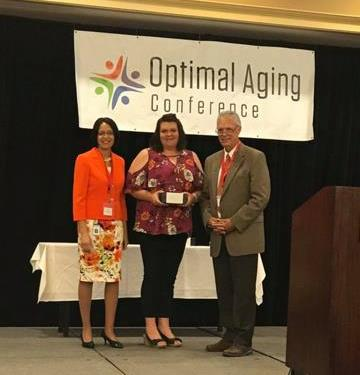 Local Senior Center Directors Receive Top Honors at 2017 Optimal Aging Conference