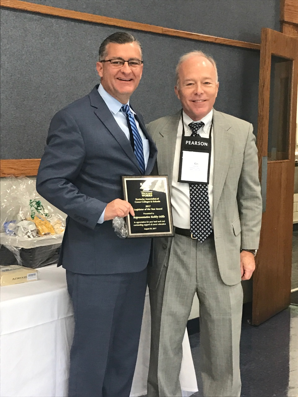 Rep. Robby Mills Named KAACS Legislator of the Year