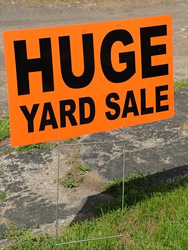 U.S. 60 Yard Sale Coming