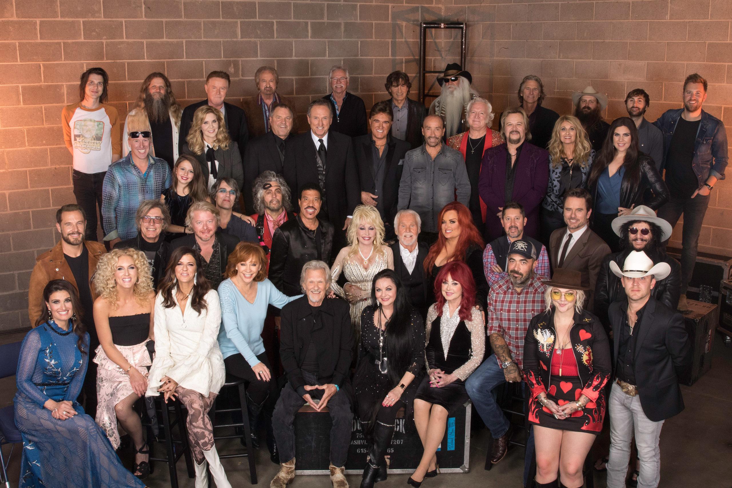 Kenny Rogers Celebrates Memories Last Night At Farewell Celebration