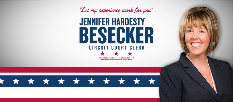 Jennifer Hardesty Besecker has announced her candidacy for Daviess County Circuit Court Clerk