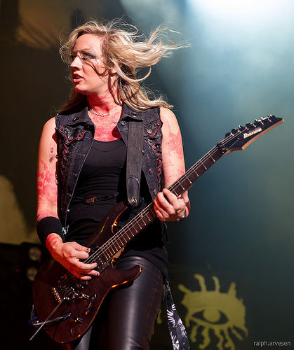 Alice Cooper's Guitarist Nita Strauss Is Going to Conquer the World With Her Solo Album