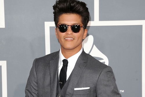 "Bruno Mars Limits His Endorsements So He Won't Feel ""Gross"""