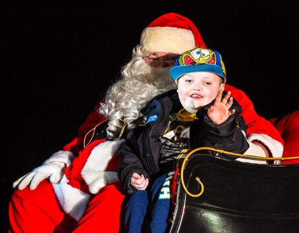 An Entire Town Helped a Sick Boy Do Christmas Two Months Early