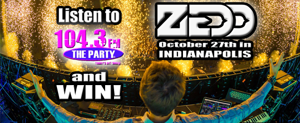 Listen to the Party and WIN tickets to see ZEDD!