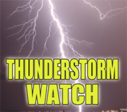 Severe Thunderstorm Watch for Some Illinois & Indiana Counties