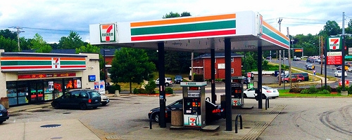 Guy Tries to Rob a 7-Eleven but Gives Up When He Can't Find the Clerk