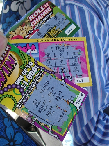A Man's Wife Yells at Him For Buying Too Many Lottery Scratchers . . . Then He Wins $1 Million