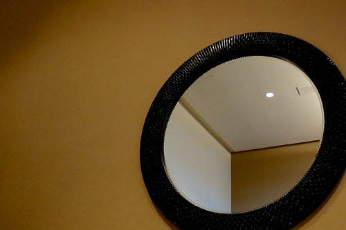 A New High-Tech Mirror Only Shows Your Reflection If You Smile