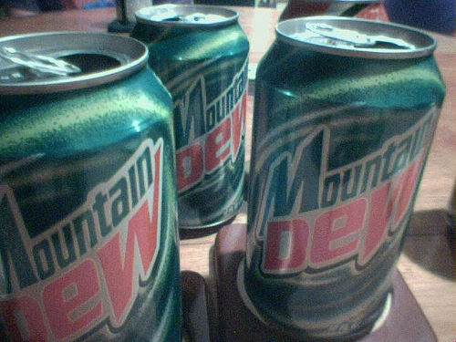 A Guy Tries Passing a Urine Test by Using Warm Mountain Dew