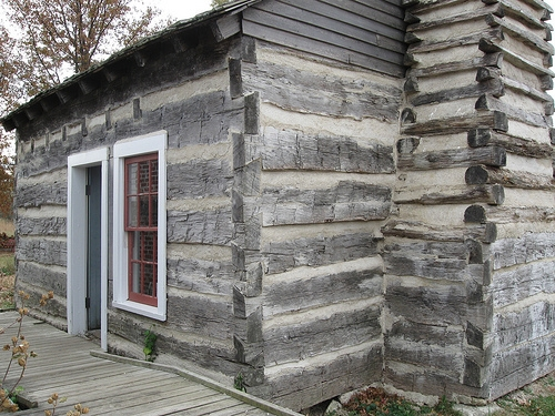 Lincoln Log Cabin to Celebrate Lincoln's Birthday