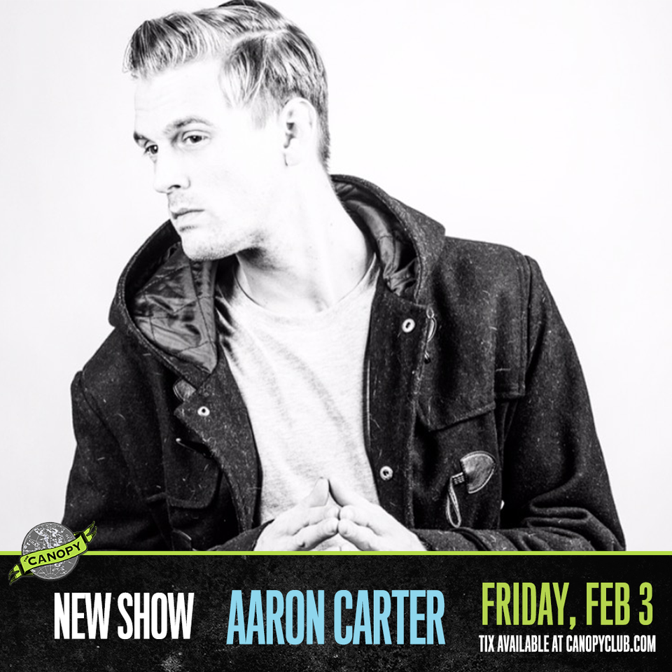 Aaron Carter Ticket Giveaway