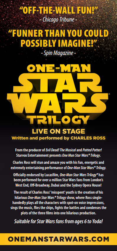 one-man-star-wars-trilogy-flyer