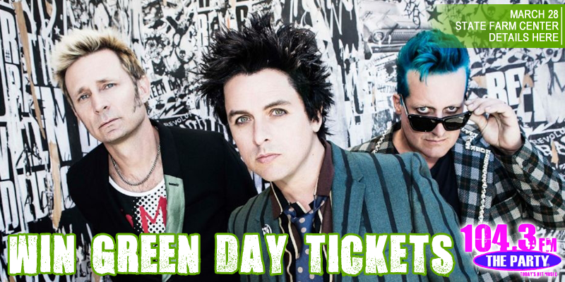 Green Day Ticket Giveaway!