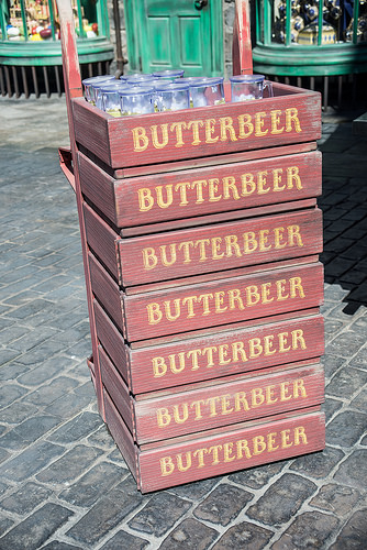 """Attention, """"Harry Potter"""" Fans:  There's a New Butterbeer Ice Cream on Sale"""