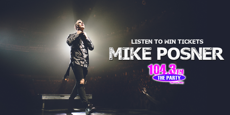 Mike Posner - Ticket Giveaway