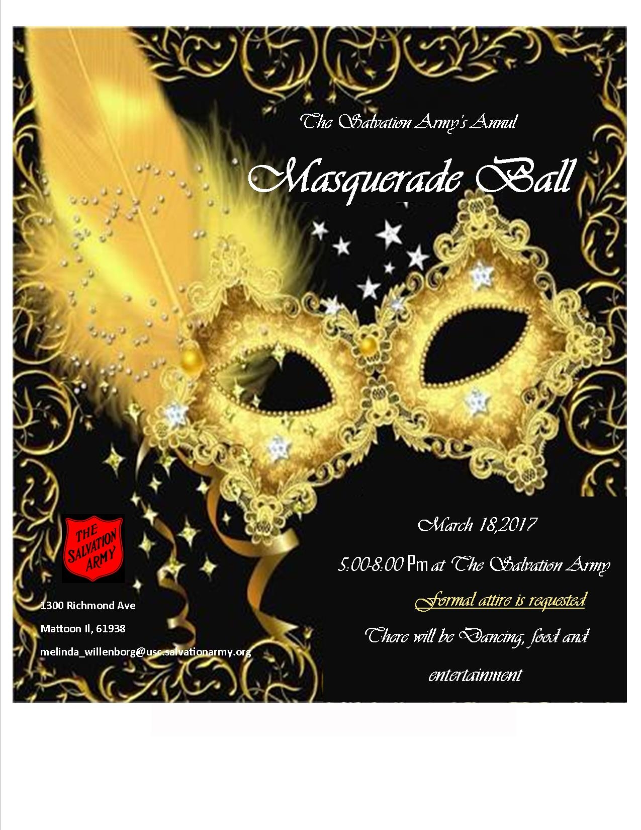 Salvation Army Masquerade Ball