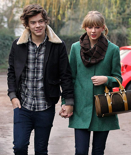 Harry Styles Is Perfectly Fine With Taylor Swift Writing Songs About Him