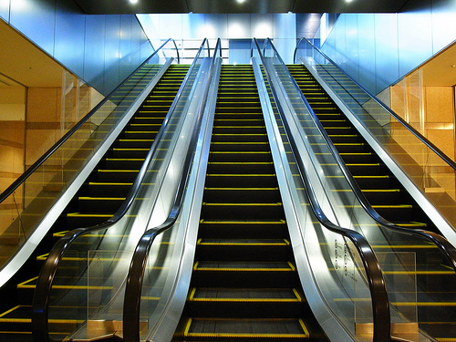 Science Has Figured Out Whether You Should Walk Up an Escalator or Just Stand There