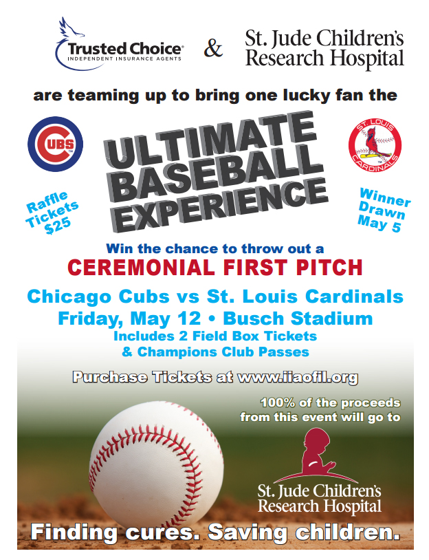 Baseball Experience Prize to Benefit St. Jude