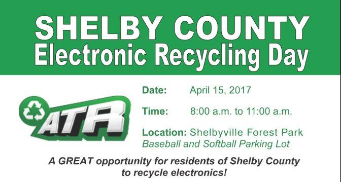 Shelby County Recycle Day: April 15