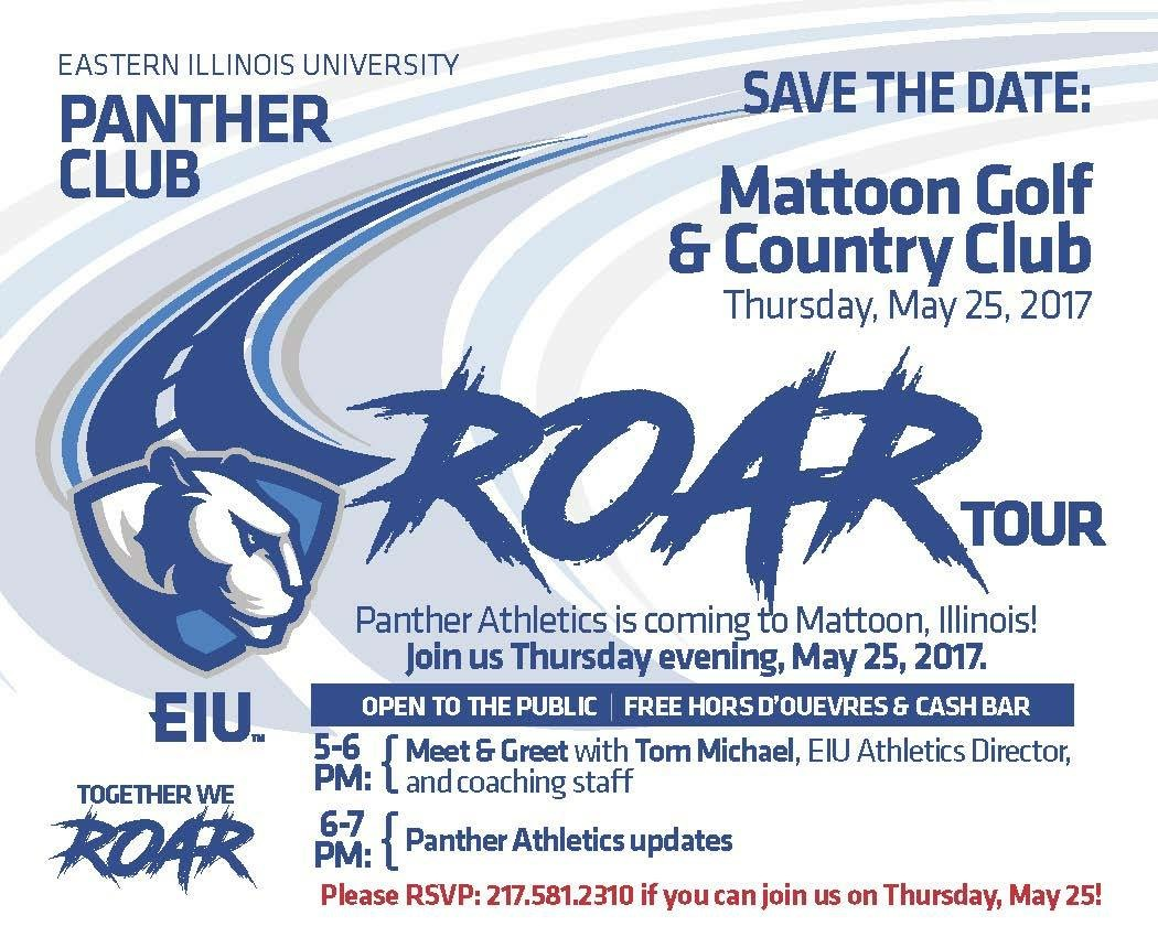 "EIU Panther Club's ""Roar Tour"""