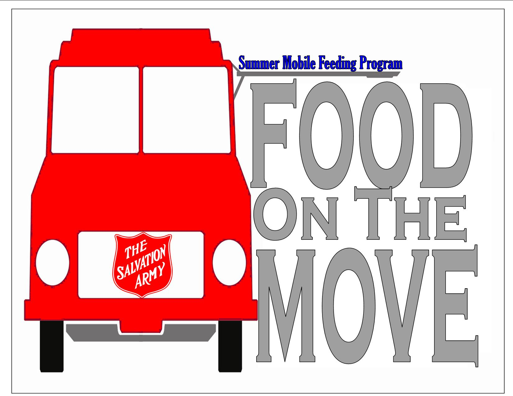 Salvation Army Food on the Move