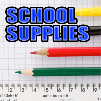 Applications for School Supplies