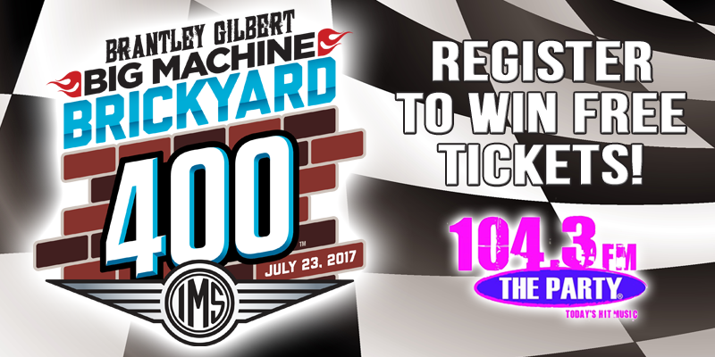 Brantley Gilbert Big Machine Brickyard 400 Tickets