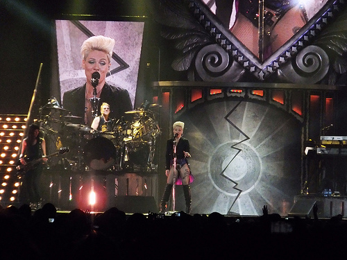 Pink Getting Video Vanguard Award At VMAs