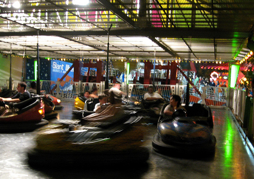 An 81-Year-Old Woman Is Busted For Using Counterfeit Tickets to Ride Bumper Cars