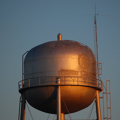 Wichita State University Misspells Two of Its Three Words on a Water Tower
